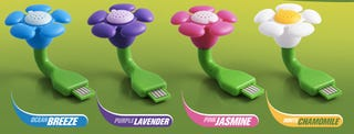 Illustration for article titled De-Smell Your Dell With A USB Scent Flower