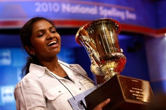 Illustration for article titled Eighth-Grade Girl Wins National Spelling Bee