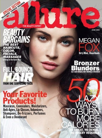 Illustration for article titled Megan Fox Hates Everything In Allure
