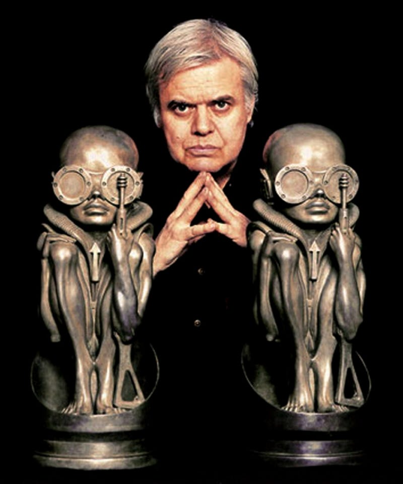 Illustration for article titled Do not piss off H.R. Giger