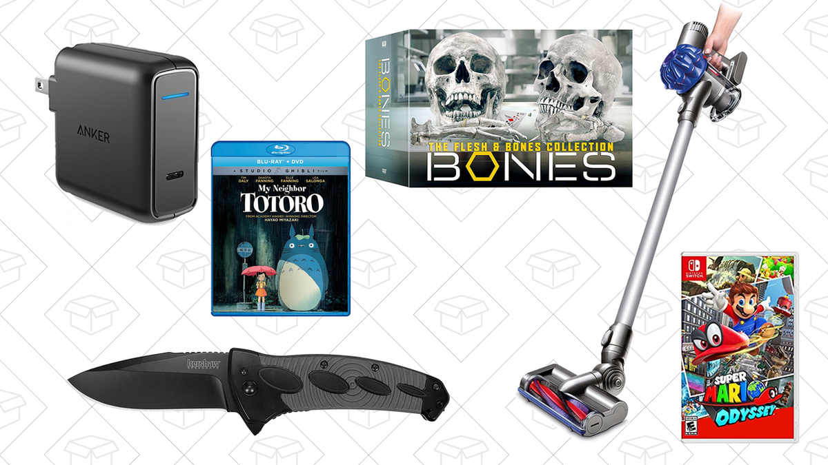Wednesdays Top Deals Refurbished Dyson Anker Powerport Bones Box Ps 4 Slim New 500gb Fw 505 Set Kershaw Tactical Knife And More