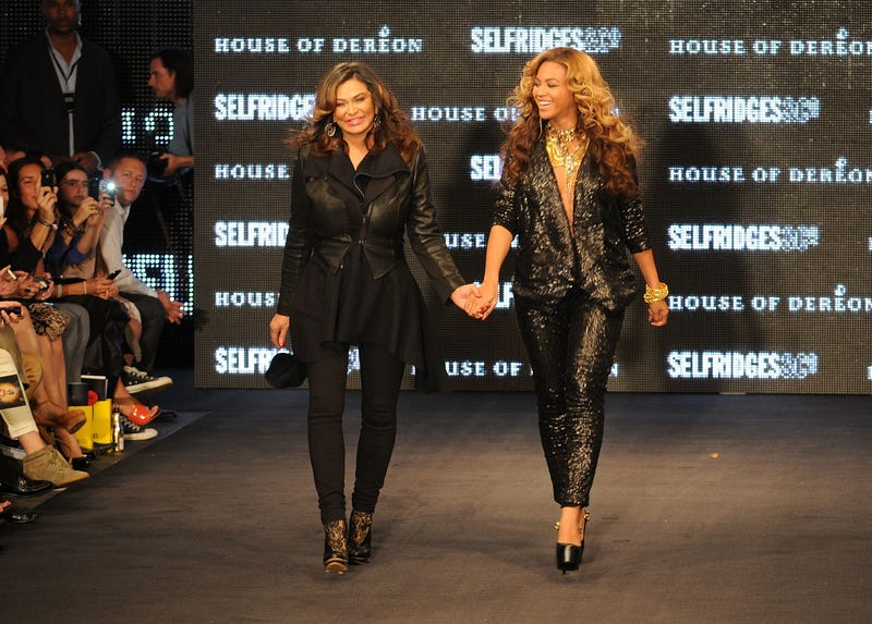 Tina Knowles and Beyoncé in 2011 Eamonn McCormack/Getty Images