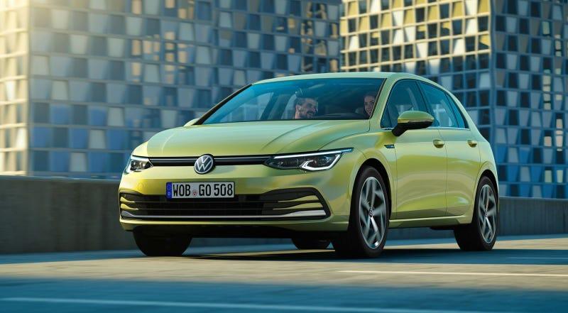 Illustration for article titled Se filtran todas las imágenes del nuevo Volkswagen Golf 2020 horas antes de su estreno