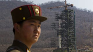 Illustration for article titled North Korea Is Lying About Its Rocket Launch, Sat-Watchers Show