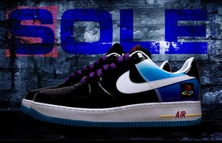 Illustration for article titled Nike Air Force Ones Reworked to Celebrate Playstation Anniversary