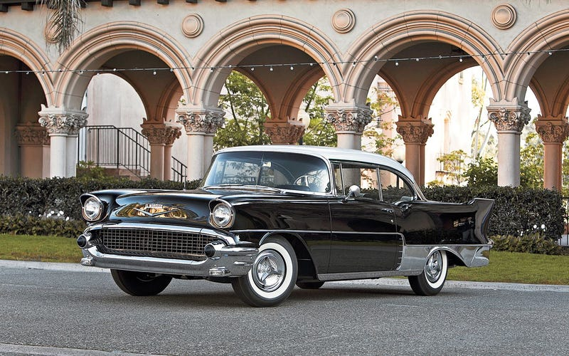 A Gorgeous Abomination 1956 1957 Chevrolet El Morocco
