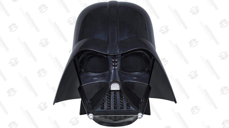 Star Wars The Black Series Darth Vader Premium Electronic Helmet | $60 | Amazon
