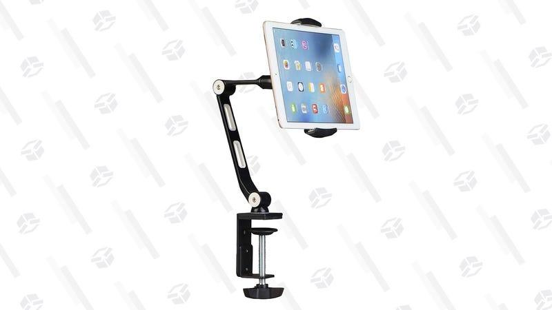 Soporte Suptek para el tablet | $20 | Amazon | Usa el cupón de $12Gráfico: Shep McAllister