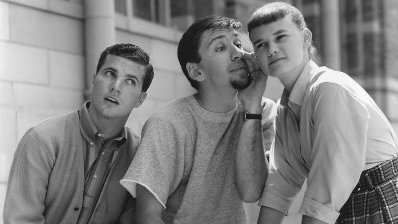 Illustration for article titled Dobie Gillis found a winner by making its lead a loser