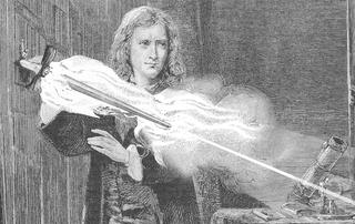 Illustration for article titled Newton's Flaming Laser Sword