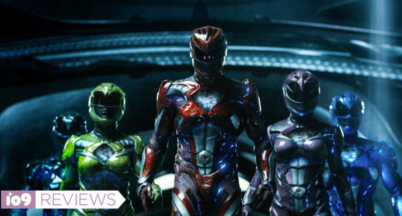 The Power Rangers finally morph in Power Rangers. All Images: Lionsgate