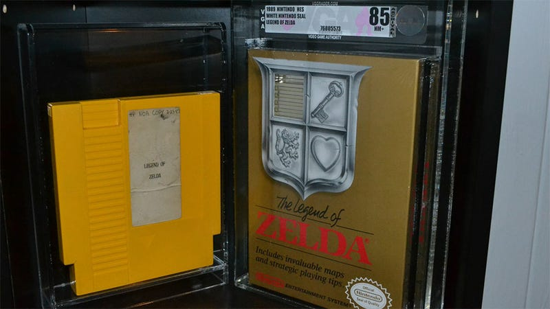 Illustration for article titled This Prototype Legend of Zelda Cartridge Can Be Yours for a Mere $150,000