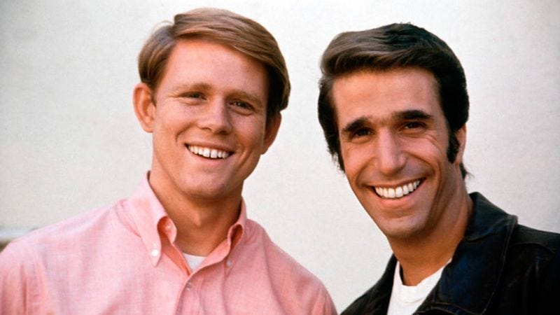Happy Days became one of the biggest hits on TV by selling