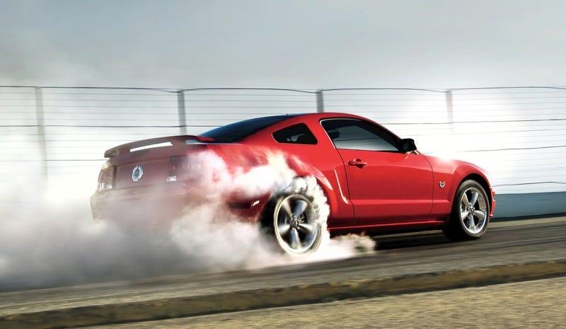 Illustration for article titled Tire Smoke Thursday?