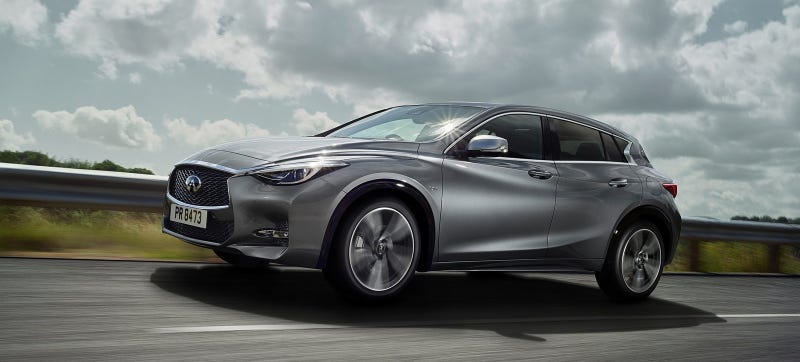 Illustration for article titled Why Dealers Forced Infiniti To Change The Q30's Name