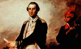 George Washington and his servant Billy Lee. Artist: John Trumbull. 1780. Oil on canvas. The Metropolitan Museum of Art.