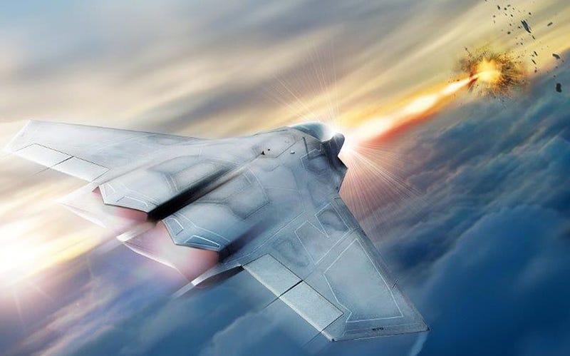 Illustration for article titled El pentágono trabaja en que los cazas de Estados Unidos tengan armas láser en el 2021