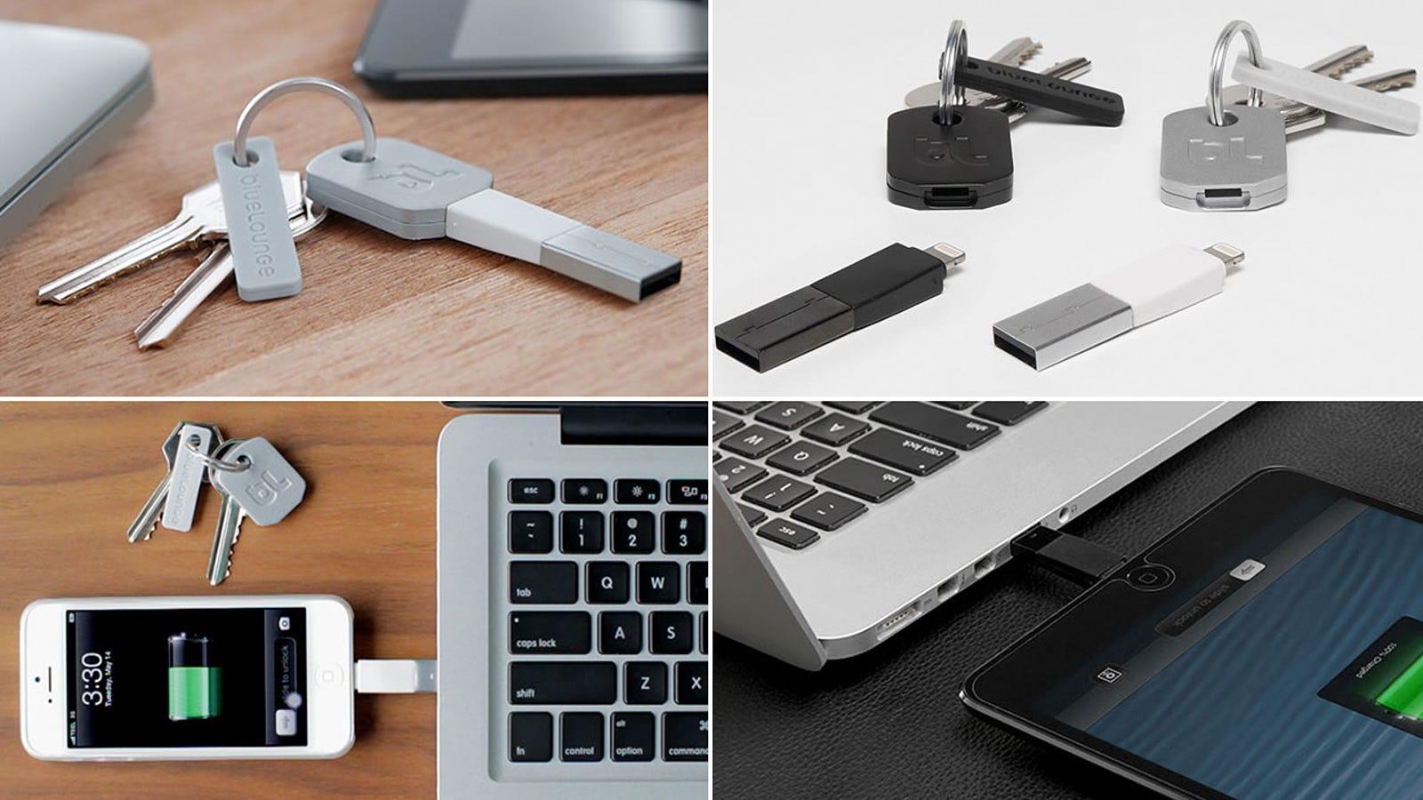 Con esta llave podrás olvidarte del cable para cargar el iPhone