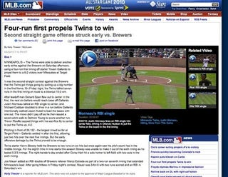 Illustration for article titled MLB.com Has Their Dewey Defeats Truman Moment, Then Doesn't