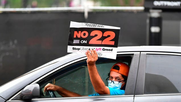 In a Win for Gig Workers, Uber-Backed Prop 22 Ruled Unconstitutional by California Judge
