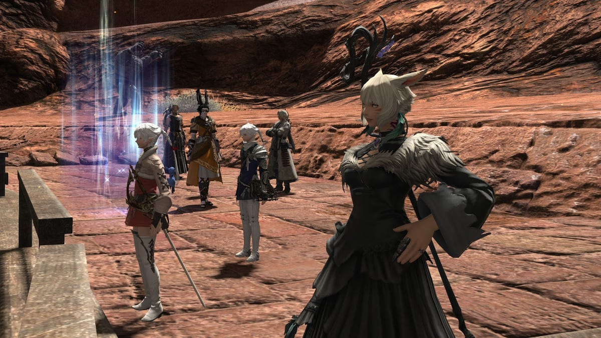 Final Fantasy XIV Lets You Run Dungeons With NPC Heroes Now
