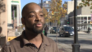 Canadian officials reject U.S. citizen Kyle Canty's refugee application, which says he fears that American police will kill him because he's black.CBC NEWS SCREENSHOT