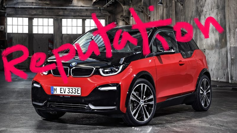 Illustration for article titled 2018 BMW i3s: Look What You Made BMW Do