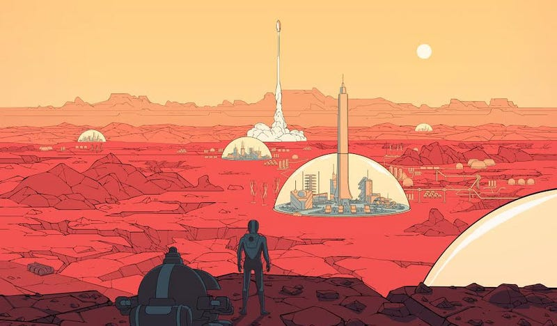 "Illustration for article titled Paradox Publishing A ""Hardcore"" Strategy Game About Mars"