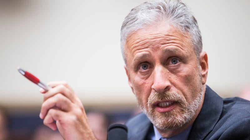 Illustration for article titled Jon Stewart has some fresh fire for lawmakers who blocked a bill supporting 9/11 first responders