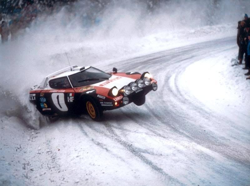 Illustration for article titled 5S = Stig +  Stratos  + Sideways + Snow + Sweden