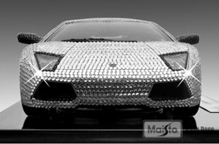 Illustration for article titled Jo Jo Dancer, Your $2,500 Crystal-Covered Lambo Model Is Calling