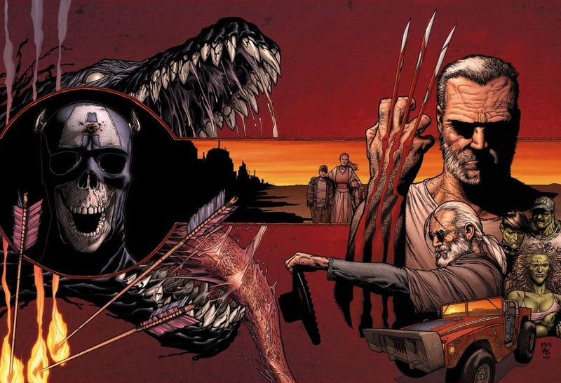 Illustration for article titled Comics Questions: What is Old Man Logan And Is It Anything Like Logan?