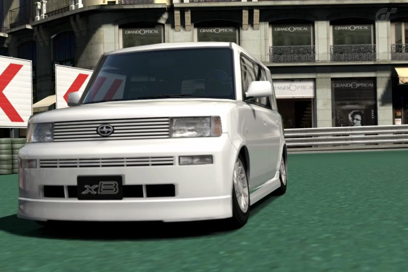 Illustration for article titled Gran Turismo Car Review: Scion xB