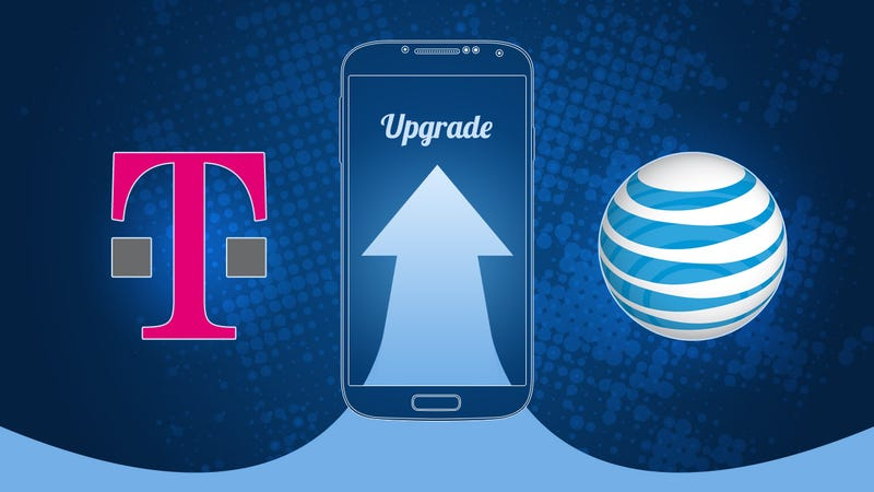 Illustration for article titled Are AT&T and T-Mobile's Frequent Upgrade Plans Worth It?