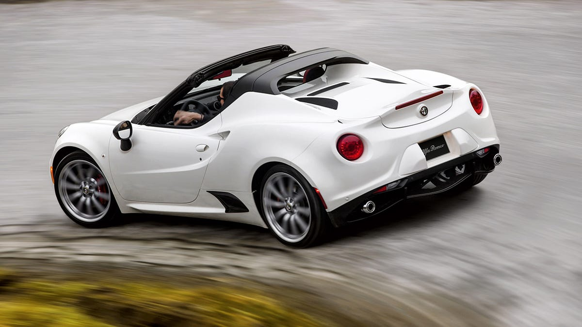 Alfa Romeo 4c Spider Way Better Without A Roof But You Pay For It Wiring Harness