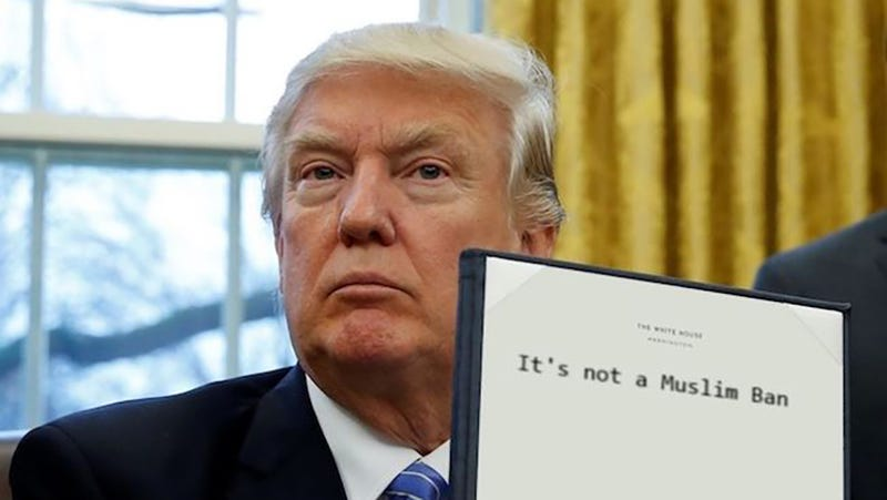 Real photo of a recent executive order from WhiteHouse.gov (?)