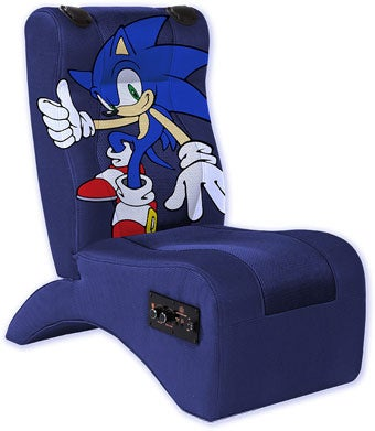 Sonic Chair can sit on sonic for a sensory experience
