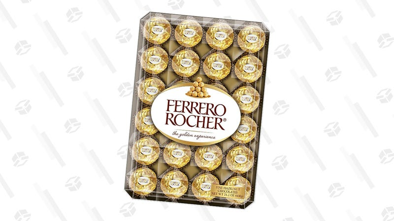 48-Count Ferrero Rocher Hazelnut Chocolates   $6   Amazon