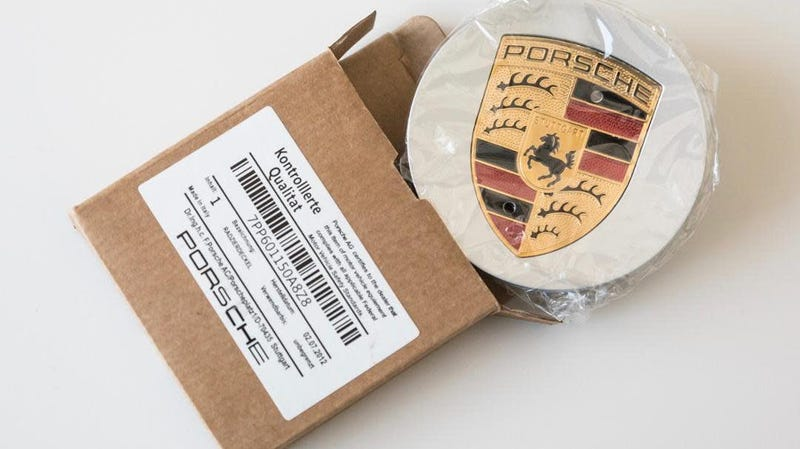 """""""The exposure of plagiarism is not always as simple as in this case, in which not even the packaging label complies with the strict quality criteria of Porsche."""" - Porsche"""
