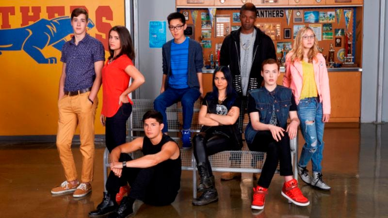 These are actually the Degrassi kids, but you know, close enough