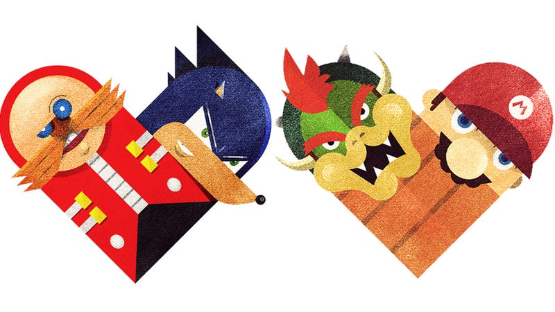 Illustration for article titled Who Do Video Game Heroes Love Best? Game Villains, Naturally.