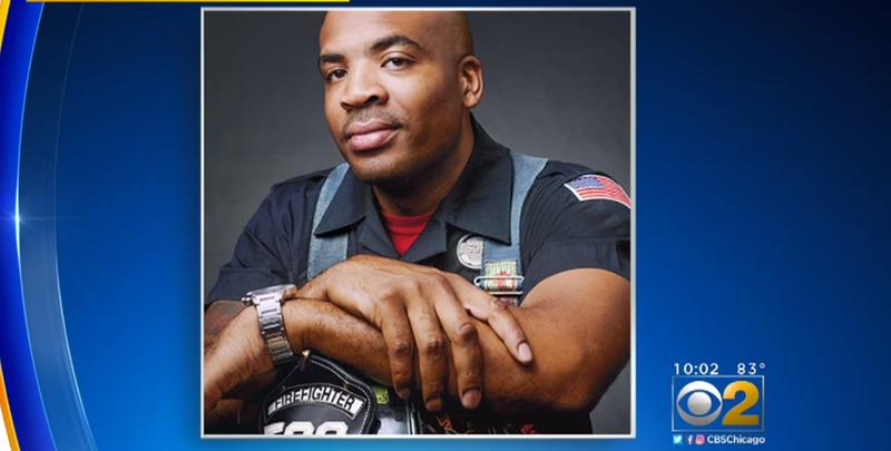 Firefighter Lawrence Matthews (CBS Chicago screenshot)