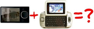 Illustration for article titled Zune Finding Ways to Work with Danger = Zune Hiptop?
