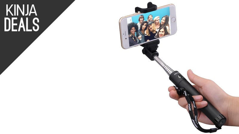 Illustration for article titled Snap Up a Wireless Selfie Stick for $14, Today Only