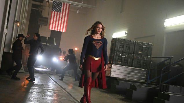 Supergirl is getting pants next season