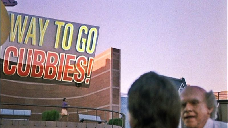 Illustration for article titled Back To The Future writer laments that Cubs win ruined his joke
