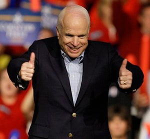 Illustration for article titled Republicans Should Probably Be More Scared Of John McCain Than Barack Obama