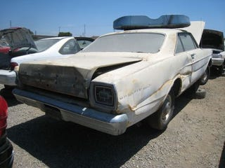 Illustration for article titled Hardtop Or No, This Galaxie Is Crusher Bound