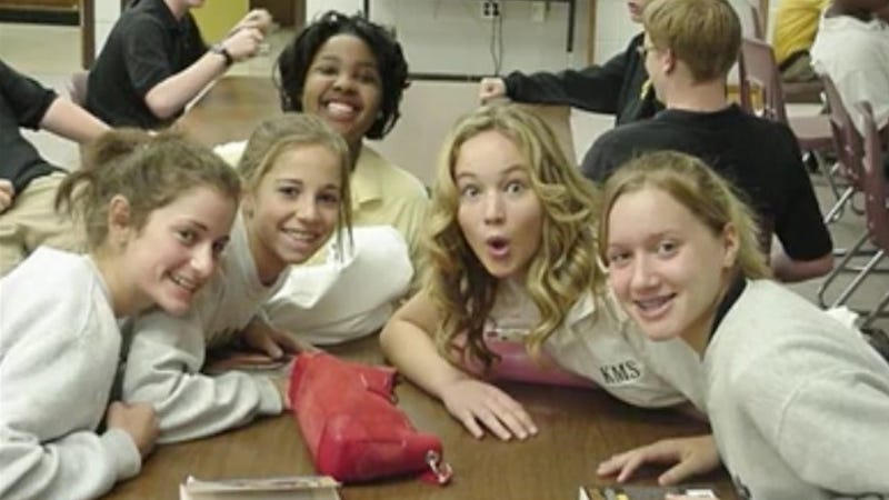Illustration for article titled Preteen Photo of Jennifer Lawrence Confirms She's Always Been Your BFF