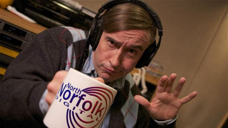 Photo: Steve Coogan (Mid Morning Matters)